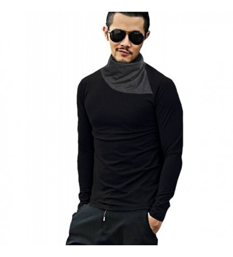 COOFANDY Sleeve Turtleneck Thermal T Shirt