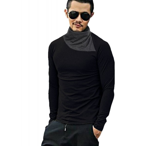 COOFANDY Sleeve Turtleneck Thermal T Shirt