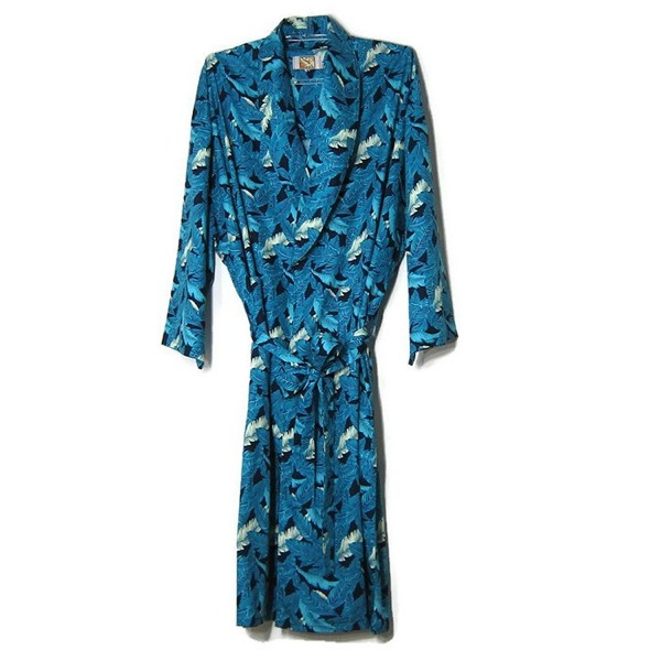 Hello Robes Mens Blue Sleepwear