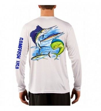 Microfiber Moisture Wicking Performance Gamefish