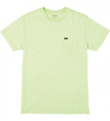 RVCA T Shirt Smoke Green Medium
