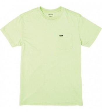RVCA T Shirt Smoke Green Medium