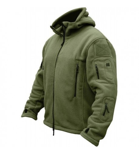 TACVASEN Tactical Fleece Jacket X Large