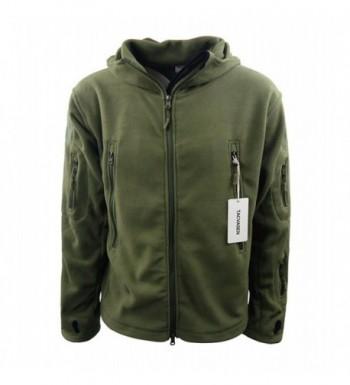 2018 New Men's Fleece Coats Online