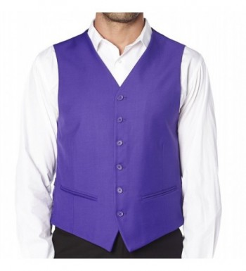 CONCITOR Dress Waistcoat PURPLE INDIGO
