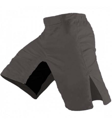 Blank MMA Shorts Grey 28