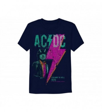 AC DC Sleeve Graphic T Shirt