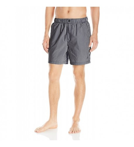 Nautica Quick Gingham Trunk Medium
