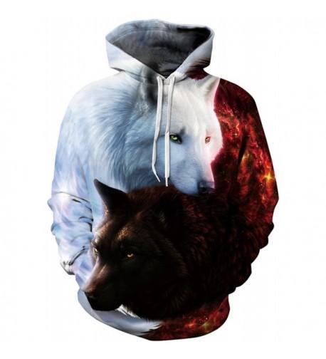 Pandolah Athletic Printed Hoodies Sweatshirts