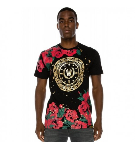 JC DISTRO Splatter BlackRed T Shirt