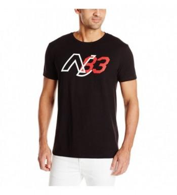 Nautica Graphic T Shirt Black Large