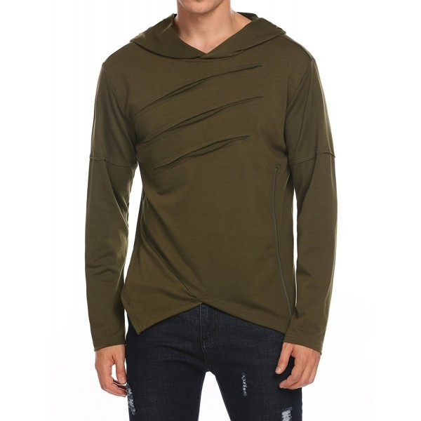 Misakia Hipster Asymmetrical Pullover Sweatshirt