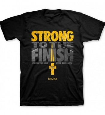 Kerusso Strong Finish Tee Black