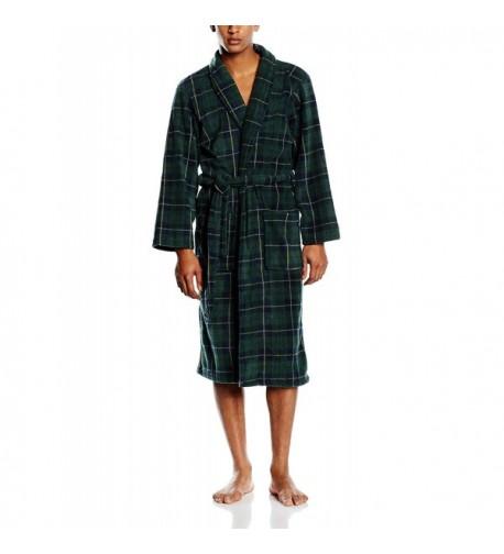 Mens Fleece Robe John Christian