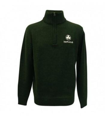 Ireland Sweater Embroidered Shamrock Colour