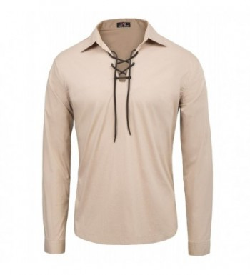 Collar Cotton jacobite Ghillie Shirts