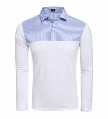 Coofandy Casual Collar Striped XX Large