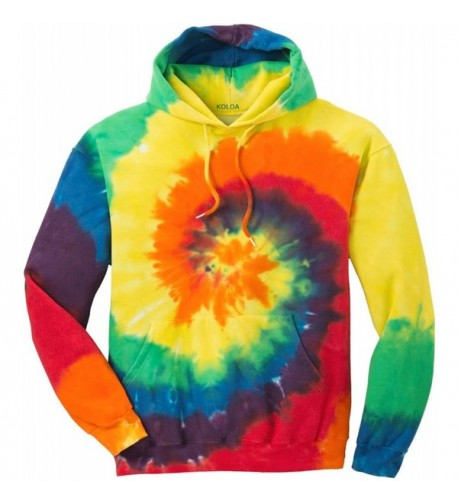 Joes USA Hoodies Tie Dye Sweatshirt