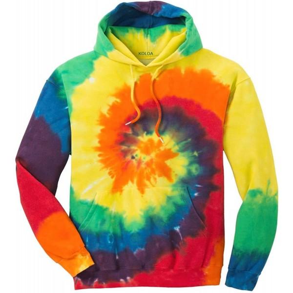Joes USA Hoodies Tie Dye Sweatshirt