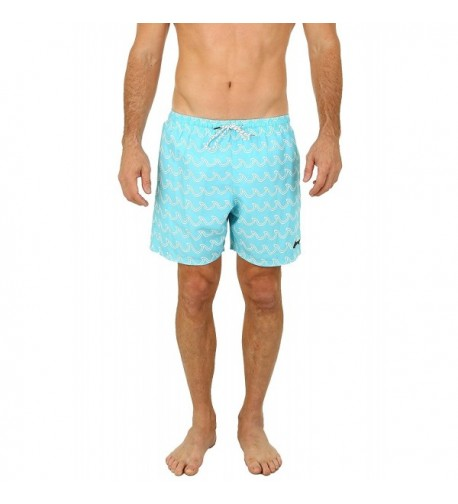 UZZI Mens Bimini Swim Trunks