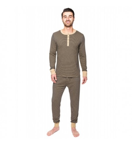 Mens Double Layer Thermal Sleep