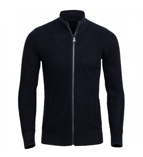 CANALSIDE Cardigan Men Wool Sweater