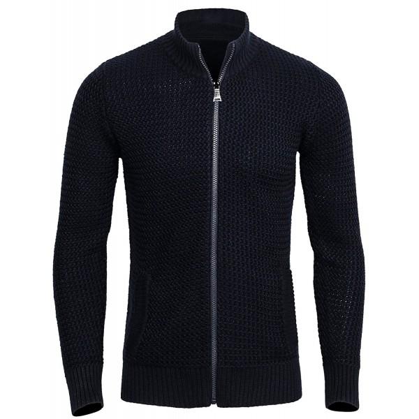 CANALSIDE Cardigan Men Wool Sweater
