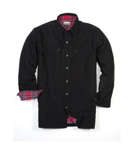 Backpacker Canvas Flannel Jacket X Large