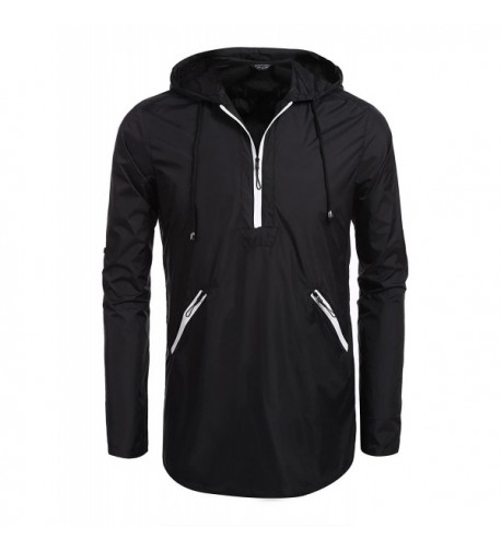 Coofandy Lightweight Outdoor Pullover Sweatshirt