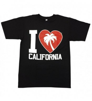 JLP California T shirt Adult Black