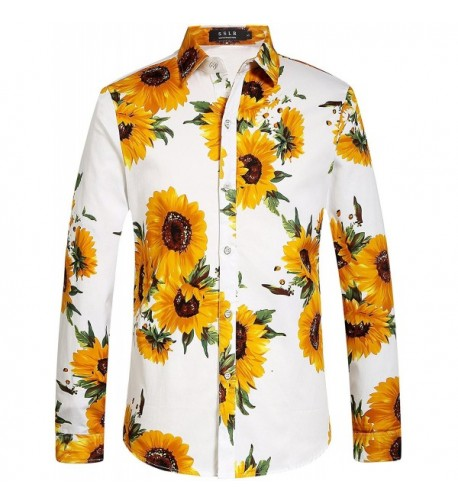 SSLR Sunflower Button Casual Sleeve