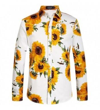 SSLR Sunflower Button Casual Sleeve