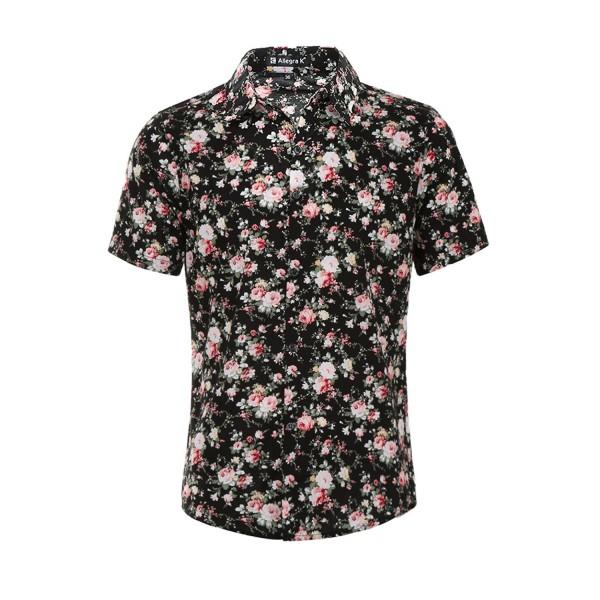 Allegra Sleeves Floral Pattern Shirts