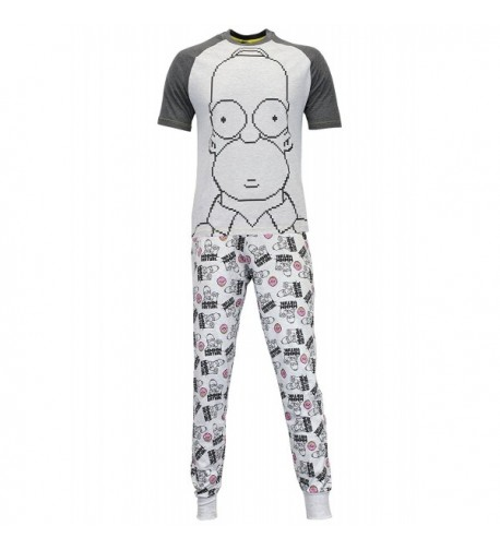Simpsons Homer Simpson Pajamas Large