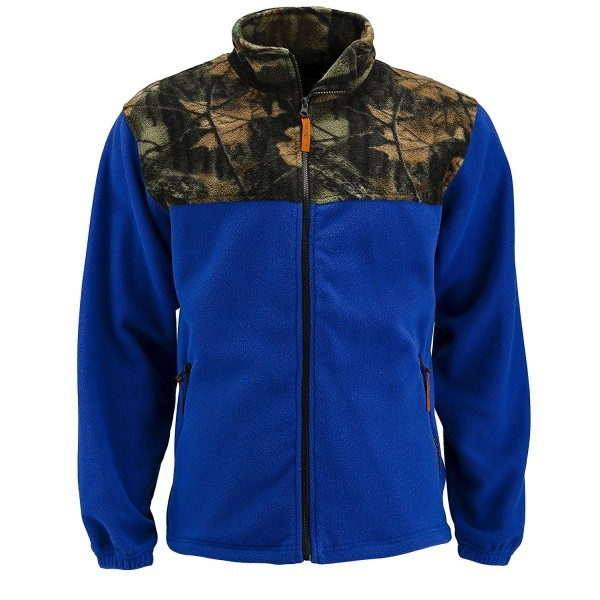 Trail Crest Fleece Camoflauge Sweatshirt