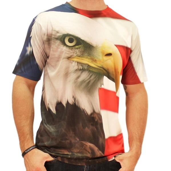 Eagle Around Sublimated T shirt medium