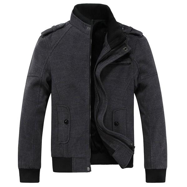 RongYue Fashion Military Jacket Shoulder