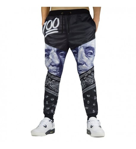Cityoung Fashion Printed Sweatpants Sportswear