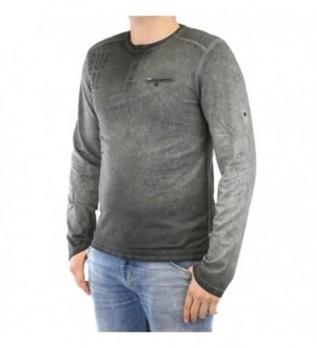 Cheap Designer Men's Henley Shirts