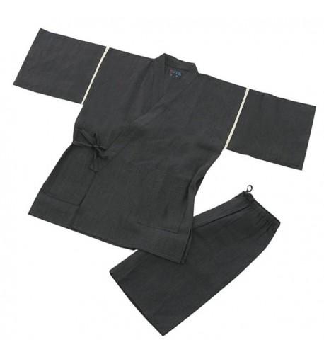 Edoten Mens Japan Kimono Jinbei