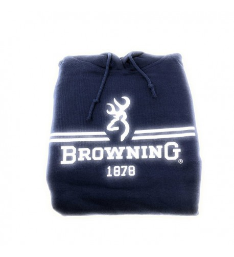 Browning Solid Hoodie Pullover Graphic