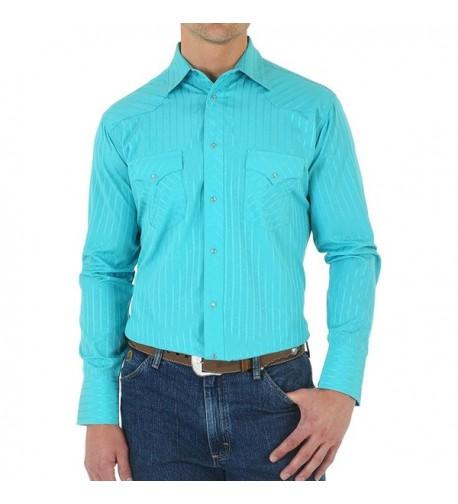 Wrangler Sport Western Stripe Turquoise