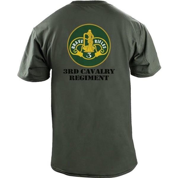 Cavalry Regiment Color Veteran T Shirt