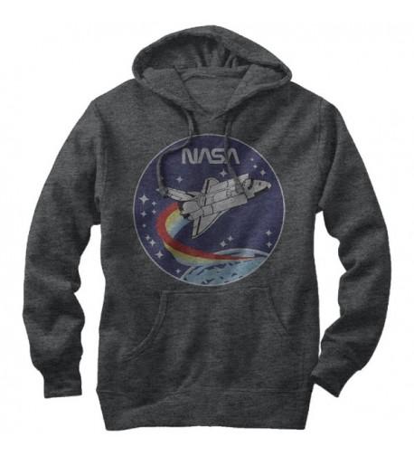 Space Rocket Graphic Lightweight Hoodie