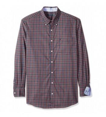 Nautica Wrinkle Resistant Plaid Shirt