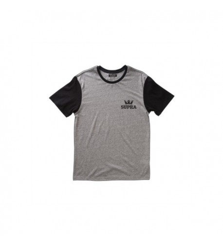 Supra Crown Short Sleeve Shirts Heather