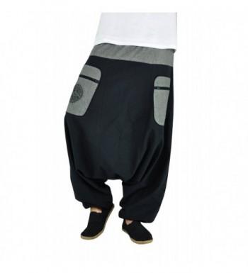 virblatt Harem Pants Hippie Crotch