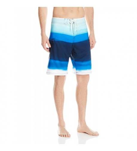 Burnside Ripped Stretch Boardshort Midnight