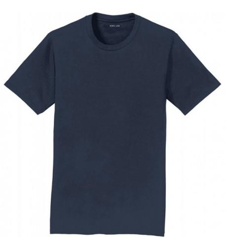 Joes USA Lightweight Cotton T Shirt DeepNavy 6XL