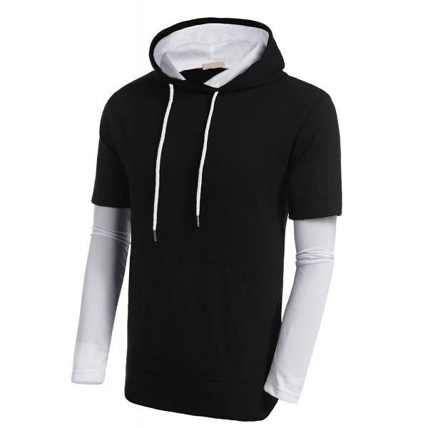 Misakia Active Hoodie Lightweight T shirts